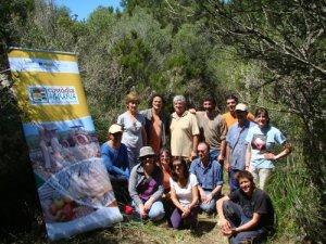 Foto de grup dels voluntaris/es.