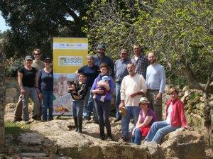 Fotografia de grup del voluntariat